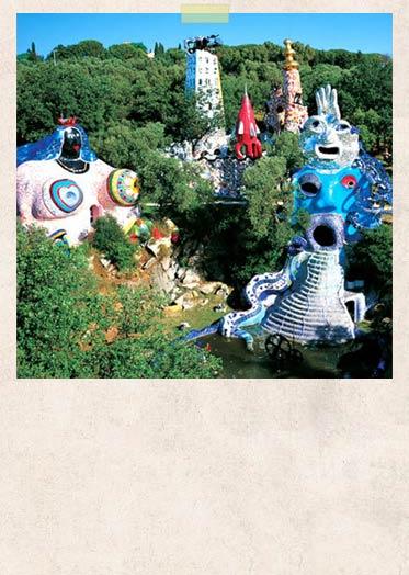 Peintre sculpteur jardin des tarots - Niki de saint phalle jardin des tarots ...